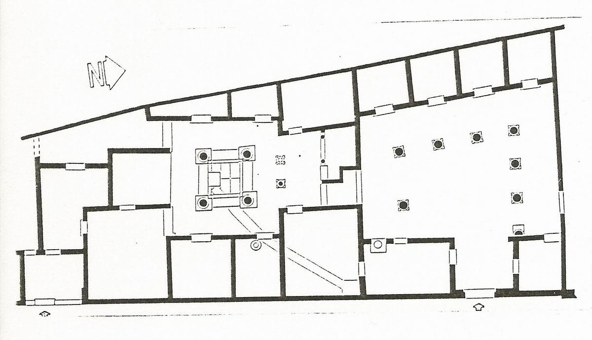 Glanum 3 l 39 architecture for Tracer un plan de maison